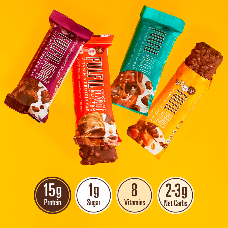 Try All Four Flavors — Shop FULFIL Bars