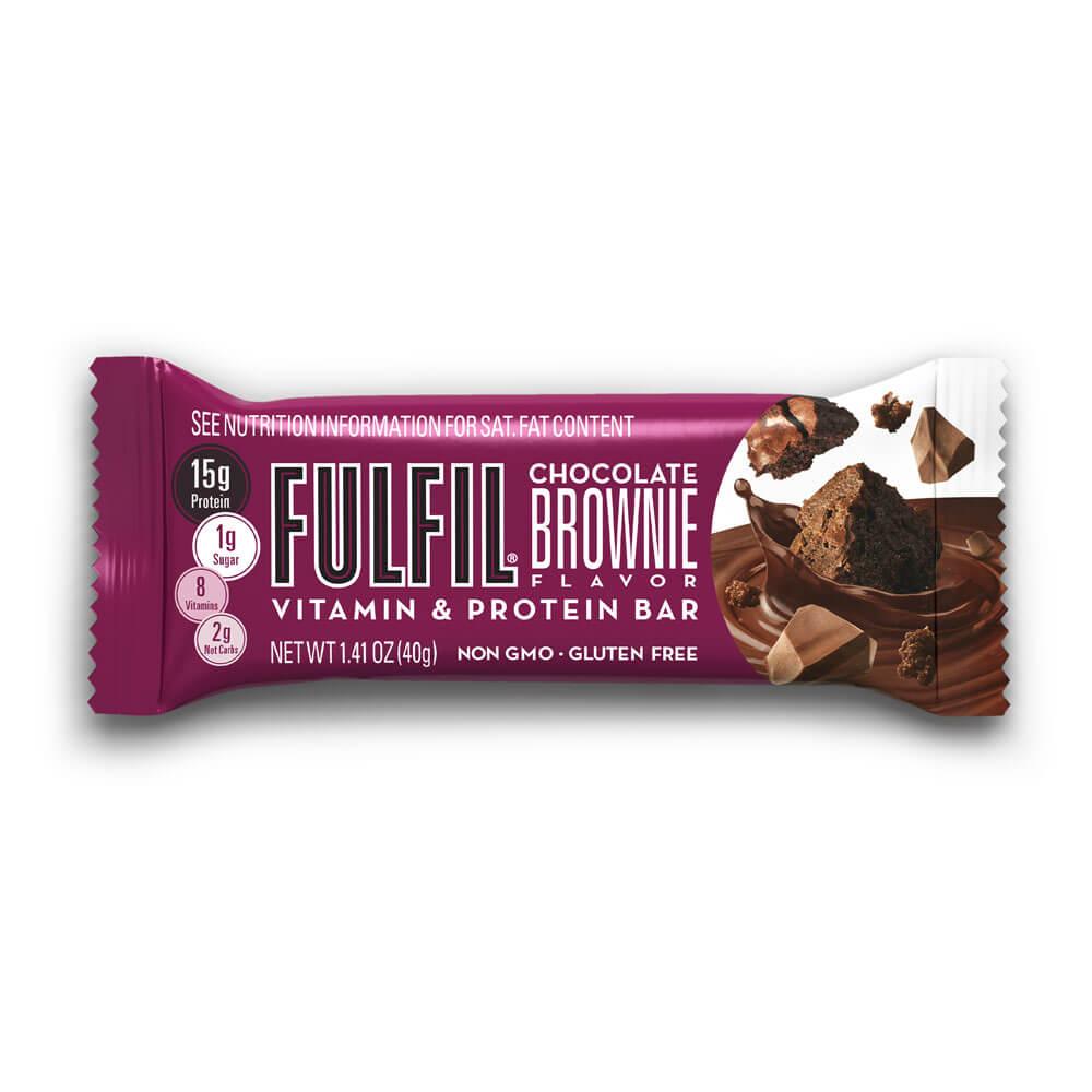 Chocolate Brownie FULFIL Nutrition Bar